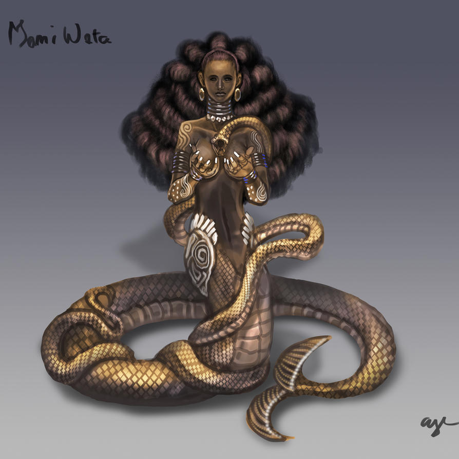Day 14: Mami Wata by Wen-M