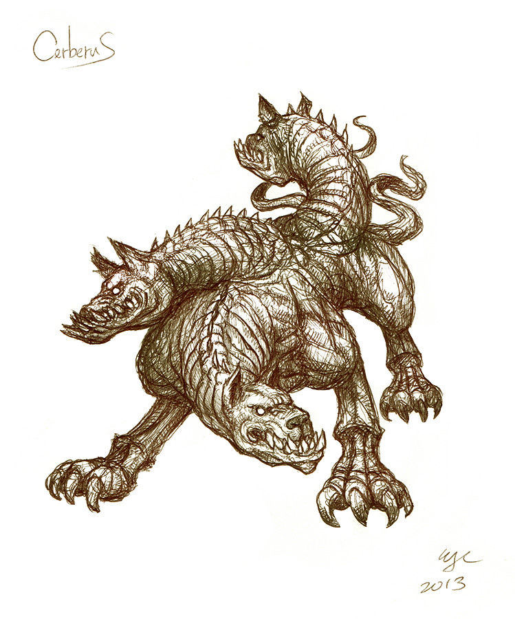 Day 20: Cerberus by Wen-M