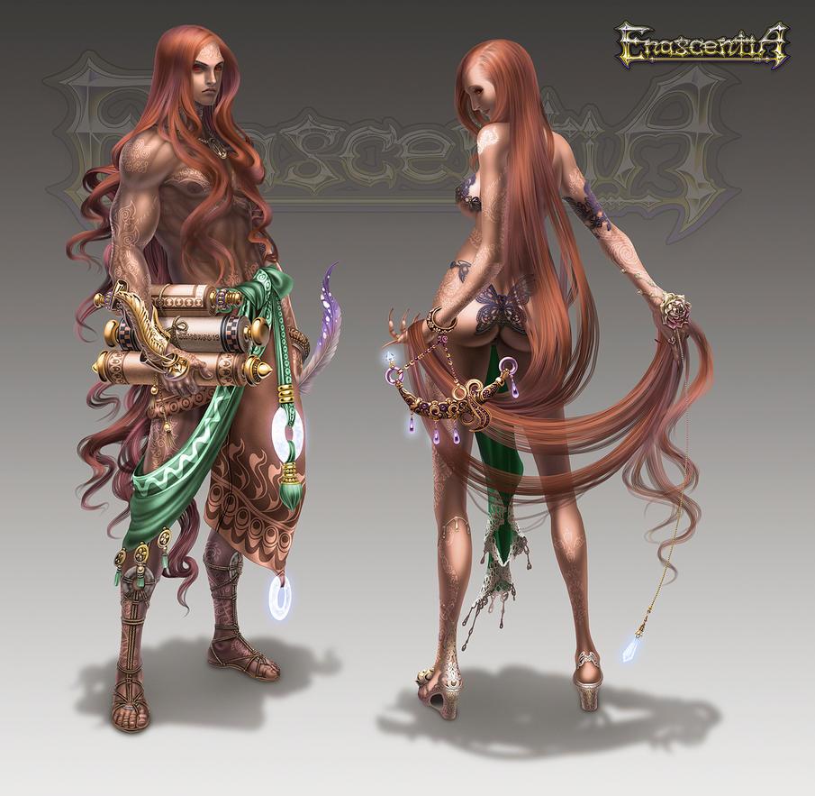 Enascentia: Menoosh Tribe by Wen-M