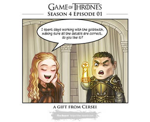 GoT: season 4 Cerseis' gift by Wen-M