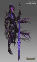 Enascentia: Janah Spear master by Wen-M