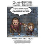 GoT: season 4 Loyal Squire (spoiler warn)