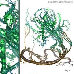 Ethernitas: Ceinwyn Sketch by Wen-M