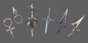 Dagger designs...not really