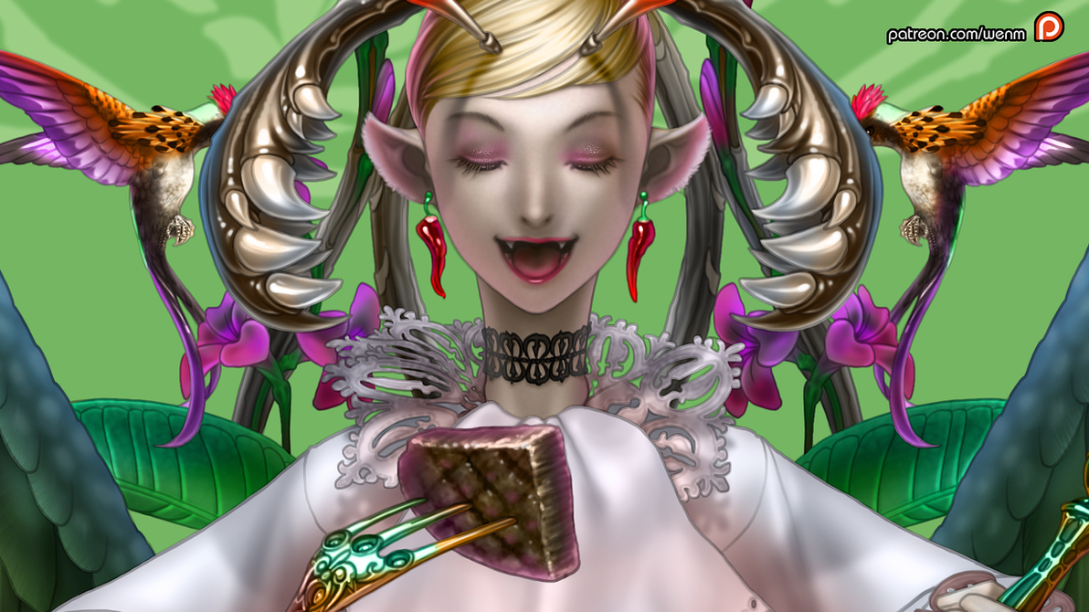 gluttony WP by Wen-M