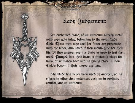 LE: Lady Judgement