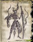Luminous Echo: Abyss Knight (drawing)