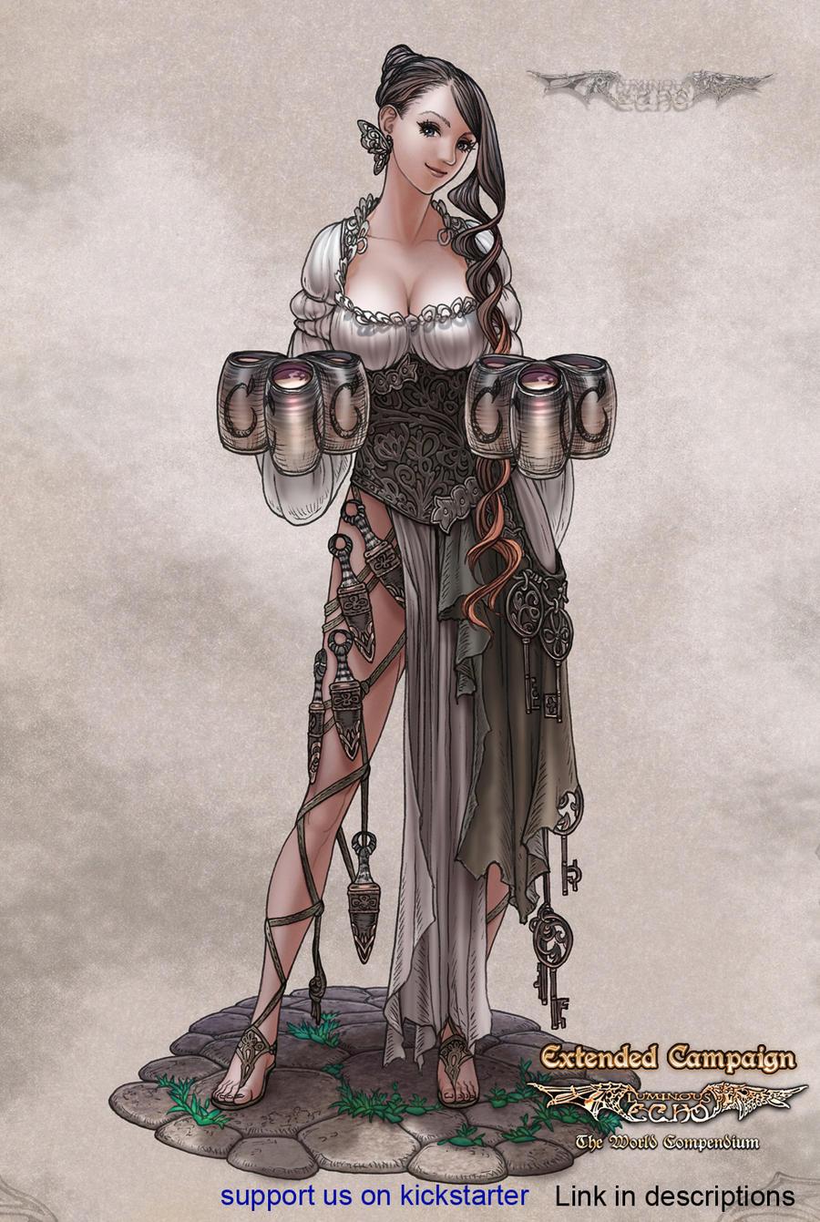 Porno sexy medieval wench fantasy art pics
