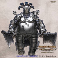 Luminous Echo: Elephant Knight by Wen-M