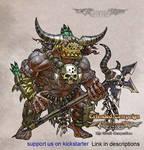 Luminous Echo: Wild Geg warrior