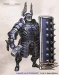 Luminous Echo: Tower Knight