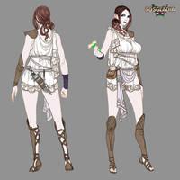 Rosgladia: Antheia underarmor 1 by Wen-M