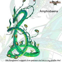 Amphisbaena by Wen-M