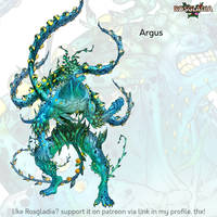 Rosgladia: Argus color