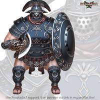 Rosgladia: Umbra Titan by Wen-M