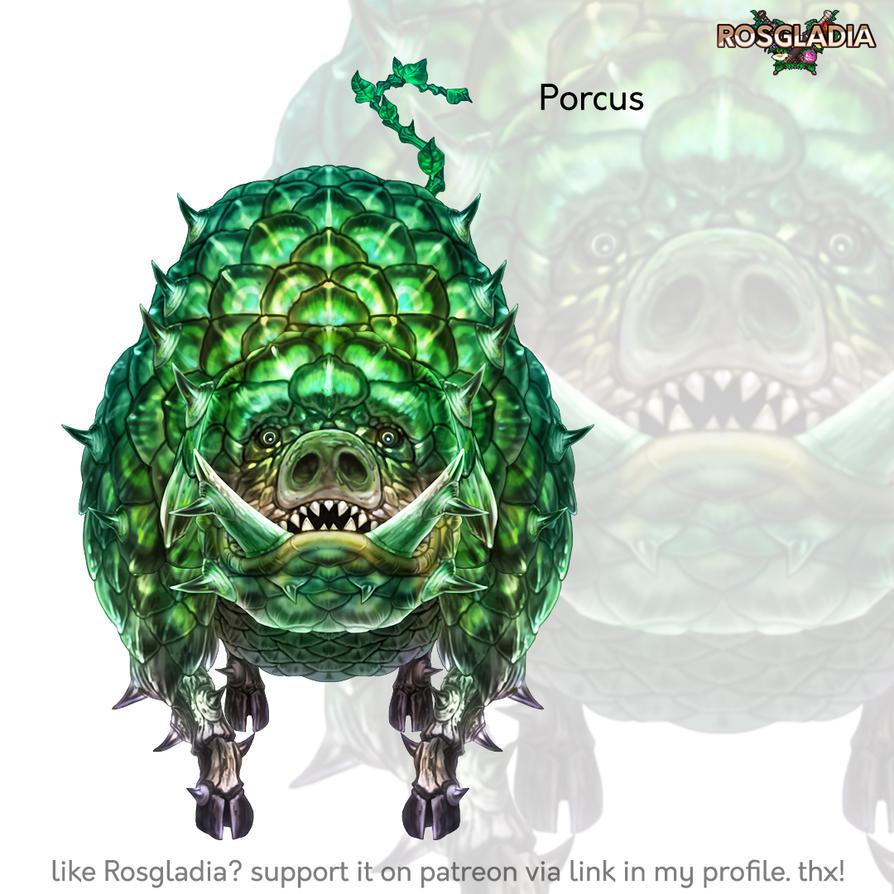 Rosgladia: Porcus by Wen-M