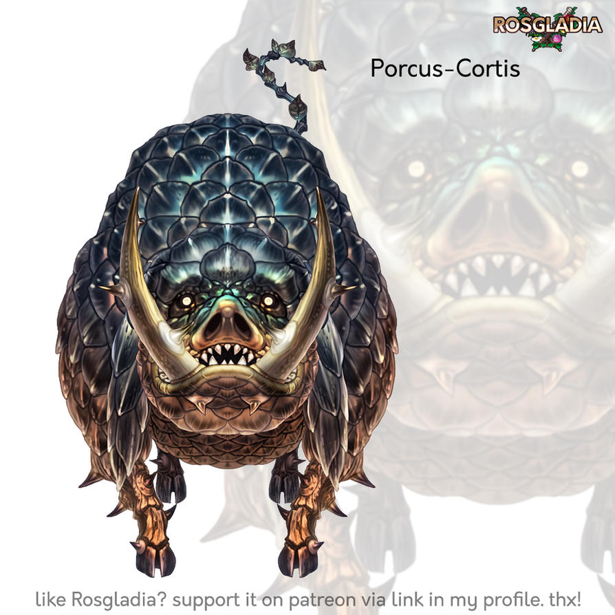 Rosgladia: Porcus-Cortis by Wen-M