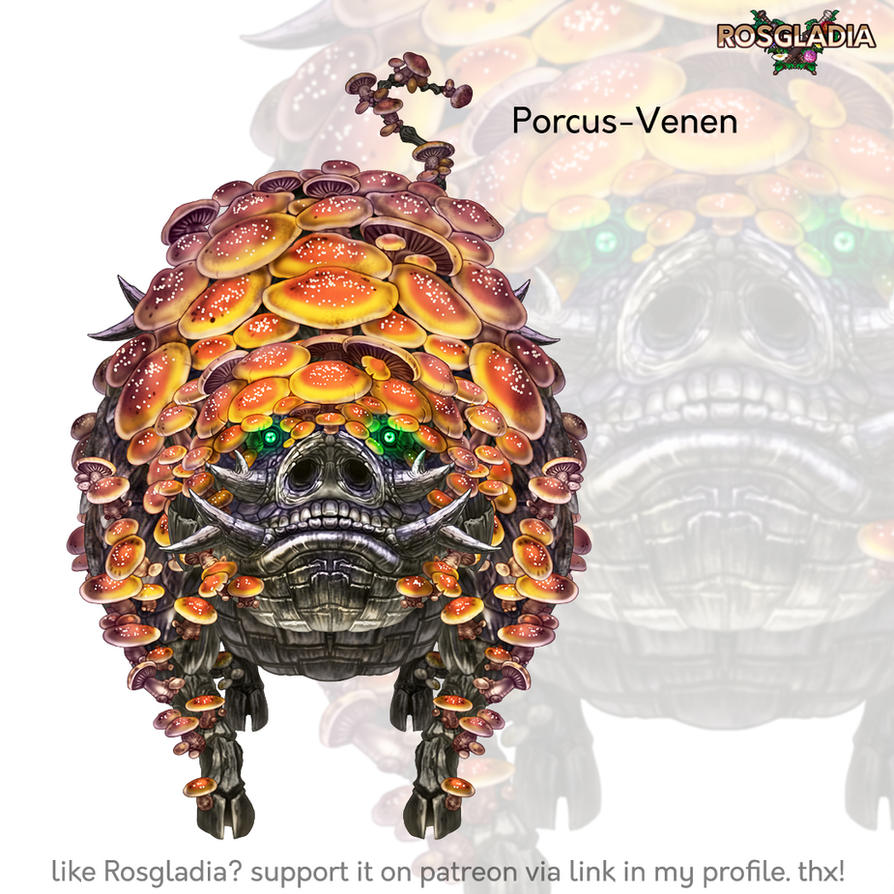 Rosgladia: Porcus-Venen by Wen-M