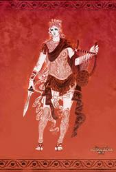 Rosgladia : Goddess Rheena by Wen-M