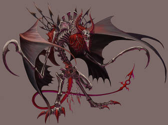 Beleth in his beast form by Wen-M