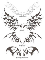 New wing Tattoos by Wen-M