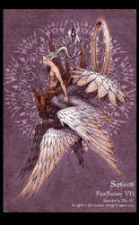 Sephiroth, 7 winged. by Wen-M