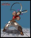 Anima: Martial art girl
