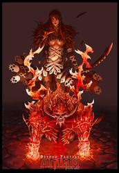 Anima: Demon summoner Girl by Wen-M