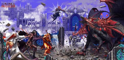 Anima: Dragon fight by Wen-M