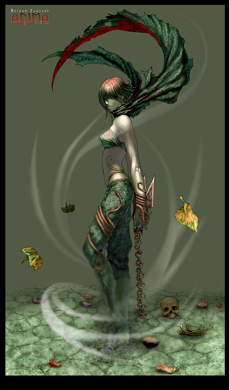 Anima: Assasin Girl by Wen-M