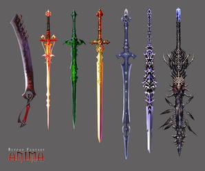 Anima: new swords set 1 by Wen-M