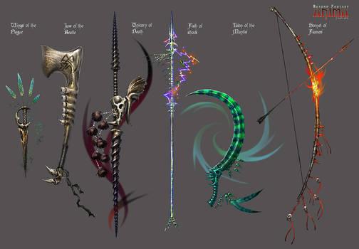 Anima: Bone weapons