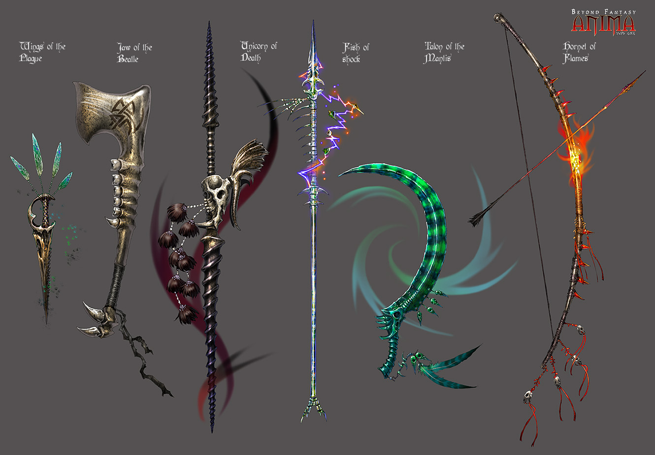 1000+ images about elemental weapons on Pinterest