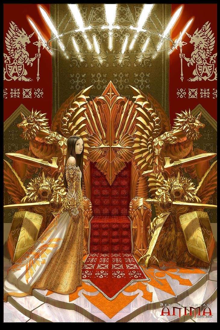 Anima: Queen Elisabetta by Wen-M