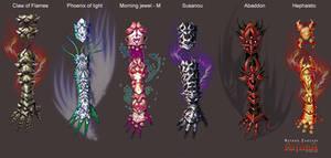 Anima: Battle gloves