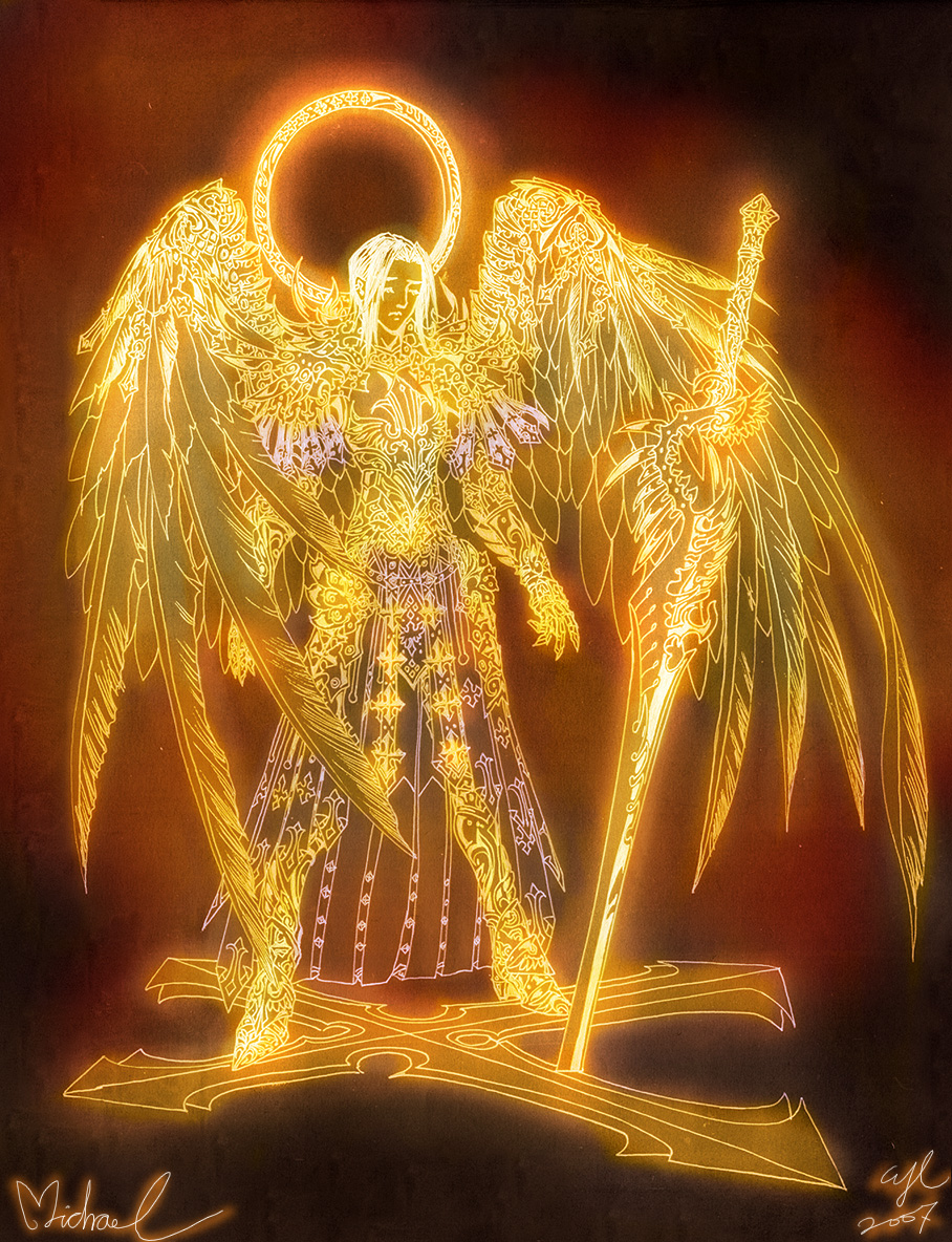 Angels: Michael by Wen-M on DeviantArt
