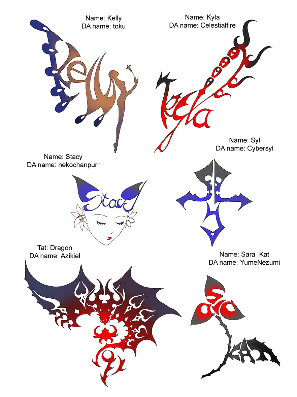 Tattoos. No 9 by Wen-M