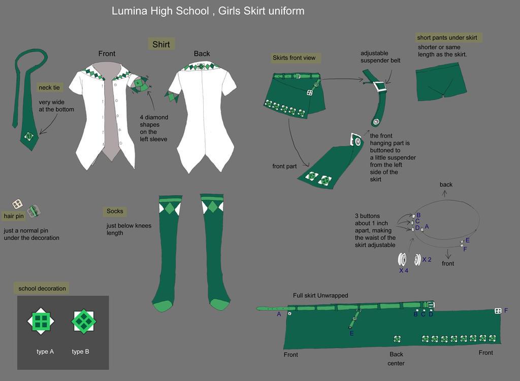 Uniform: Lumina Girls by Wen-M
