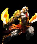 Kratos ( God of War ) Render