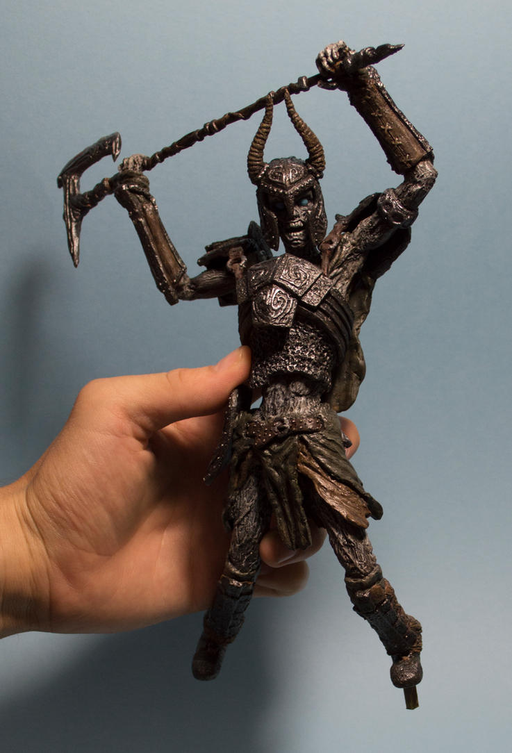 Draugr Deathlord in hand by MichaelEastwood