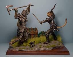 Skyrim diorama