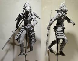 Dragon Slayer Ornstein (Dark Souls) WIP by MichaelEastwood