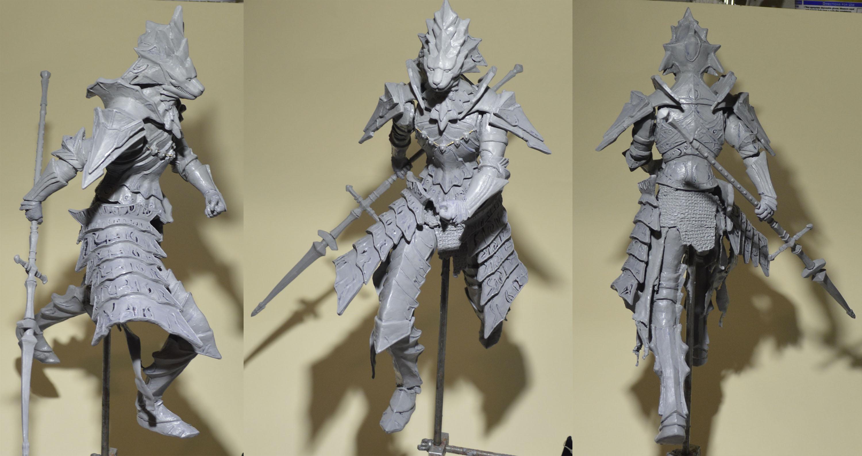 Dark Souls Dragon Slayer Ornstein by MichaelEastwood