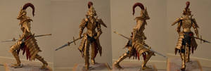 Dragon Slayer Ornstein Shiny New Armor by MichaelEastwood