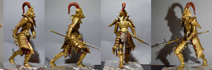 Dragon Slayer Ornstein Weathered by MichaelEastwood