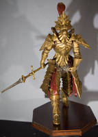 17 inch Dragon Slayer Ornstein Statue by MichaelEastwood