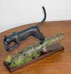 Panther sculpture commission by MichaelEastwood