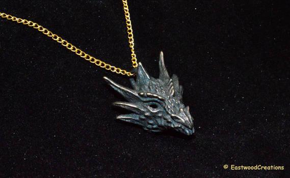 Umbral Dragon Pendant