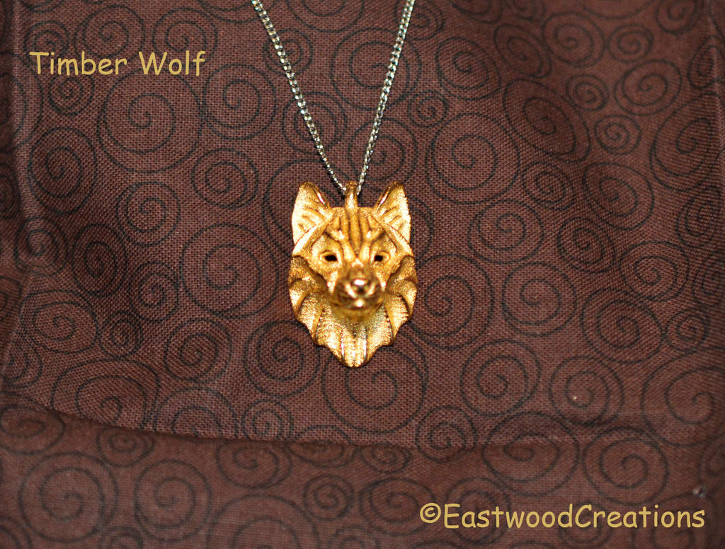 Timber Wolf Pendant by MichaelEastwood