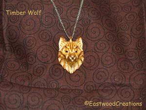 Timber Wolf Pendant